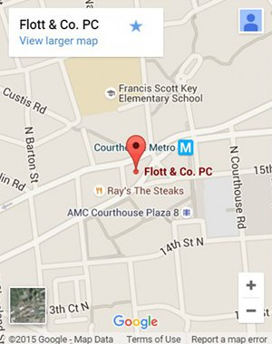 Direction for Flott and Co PC in Arlington VA